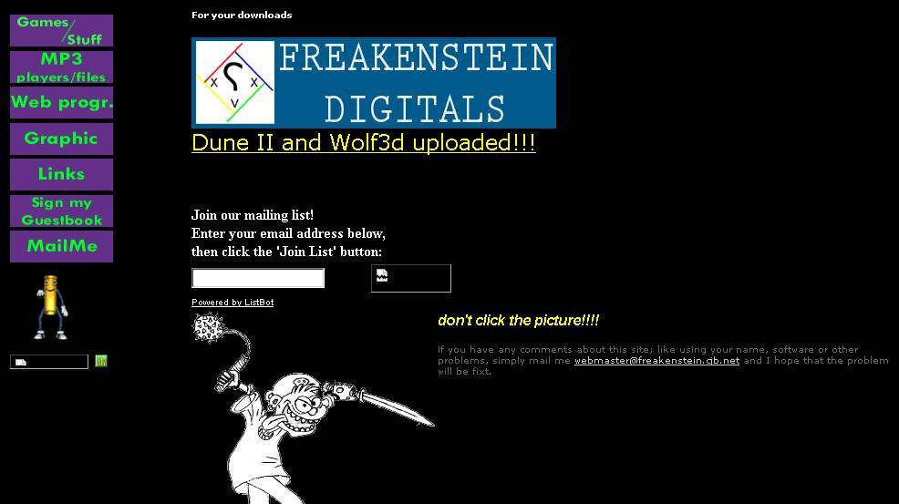 Freakenstein Digitals