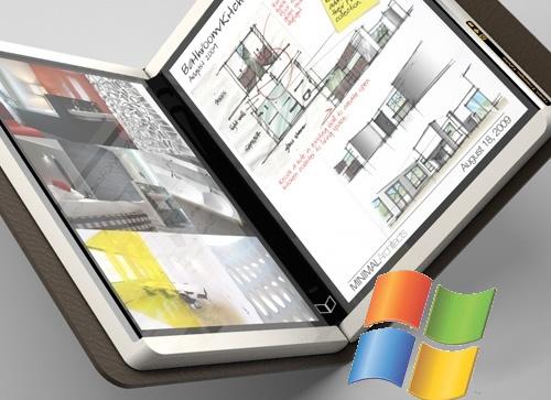 De Courier, geen tablet maar een booklet