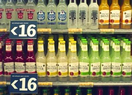 Weer alcohol uit de supermarkt!